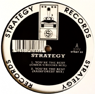 "Strategy ‎- You're The Best (12"") (G+/NM)"